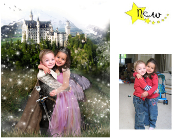 The Magical Castle Magical Portrait - Perfect for both boys and girls!