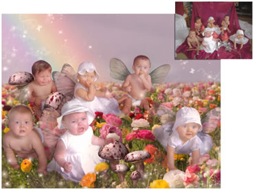 Spring Valley Magical Portrait - Fresh, fun and enchanting!