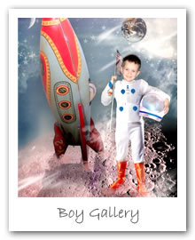 Boy Gallery - pirates, dragons, dinosaurs, space travel and more to delight any little boy!